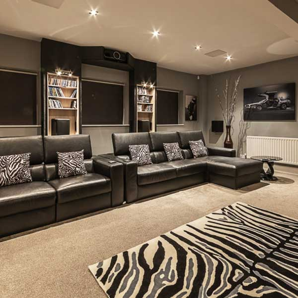 Home cinema Interior